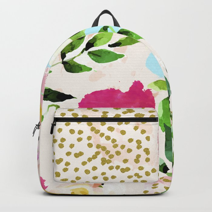 Floral Blush #society6 #decor #buyart Backpack