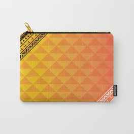 Polynesian Print Carry-All Pouch