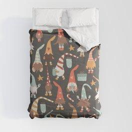 Christmas Gnomes Comforters