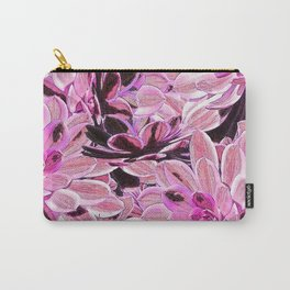 Pink Desert Succulents Carry-All Pouch