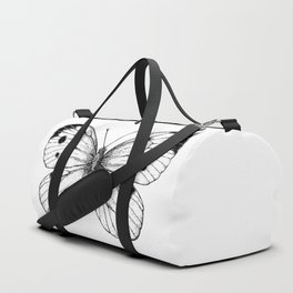 Cabbage butterfly Duffle Bag