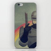 robocop iPhone & iPod Skins featuring RoboCop Love by Perry Misloski