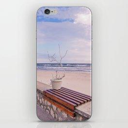 Winter On The Seaside iPhone Skin