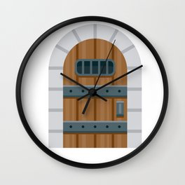 Enter the dungeon Wall Clock