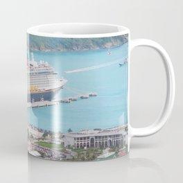 View of our ship Tortola Coffee Mug