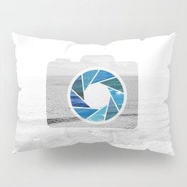 Capture the. Ocean Pillow Sham