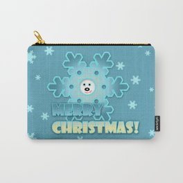 Fun snowflake Carry-All Pouch
