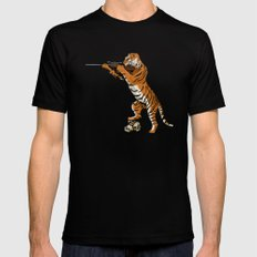 The Hunted becomes the Hunter Mens Fitted Tee MEDIUM Black