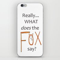 philosophy iPhone & iPod Skins featuring Deep philosophy by elisabethfryd