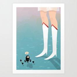 Super Villain Art Print