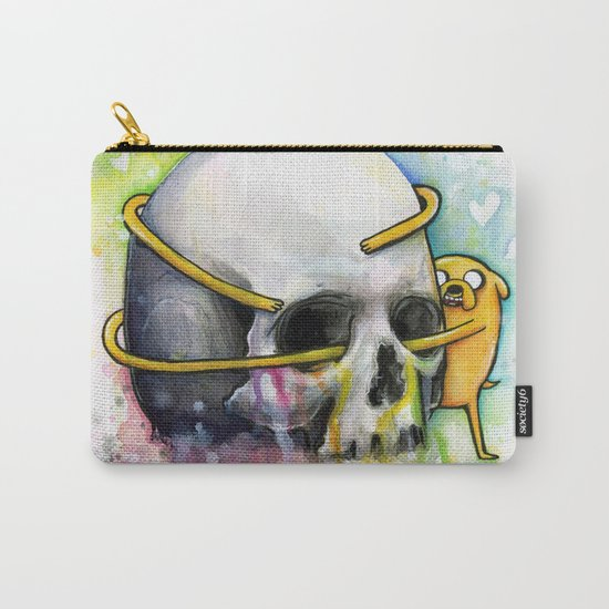 Jake the Dog and Skull Carry-All Pouch