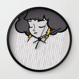 Rainy Days Wall Clock