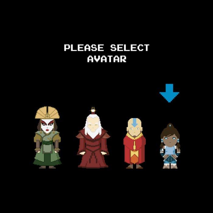 Avatar Selection Screen Comforters