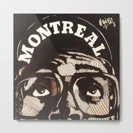 Montreal Represent (514) Metal Print