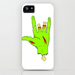forced punk iPhone Case