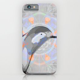 Swift Wings Dreaming Hummingbird Print iPhone Case