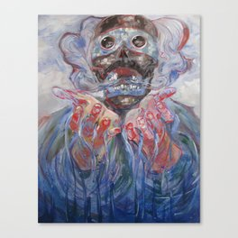 Tezcatlipoca Canvas Print