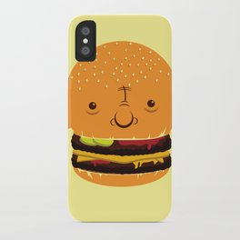 Cheeseburgerhead iPhone Case