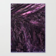 SYNTHETIC PINK LUNIZITE Canvas Print