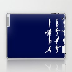 The TARDIS of Silly Walks Laptop & iPad Skin