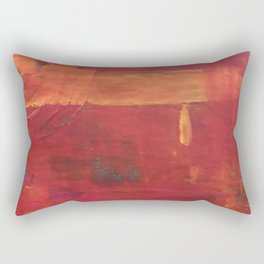 Hold my hand in your Heart Rectangular Pillow