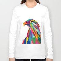 eagle Long Sleeve T-shirts featuring Eagle by mark ashkenazi
