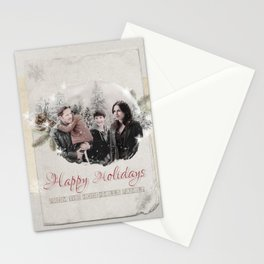 OUAT HAPPY HOLIDAYS // Hood-Mills Family Stationery Cards