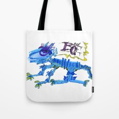 The Blue Cat Tote Bag