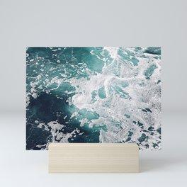 Dive Into My Emerald Dreams Mini Art Print