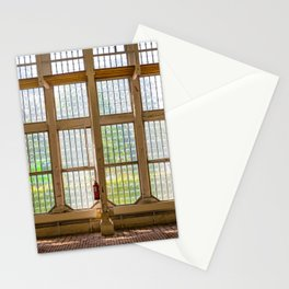 Window of an orangery Stationery Cards
