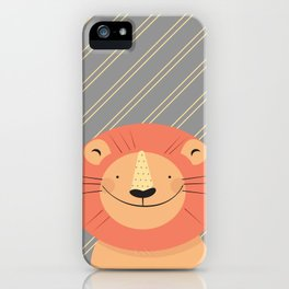 Cute Lion iPhone Case