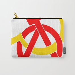 Anarcho-Communist Symbol Soviet USSRColors Carry-All Pouch