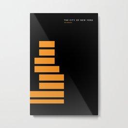 New York Skyline: New Museum Metal Print