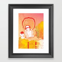 Hansel e Gretel 02 Framed Art Print