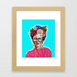 Dope Frida Framed Art Print