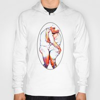 lovers Hoodies featuring Lovers by Allegra Jones