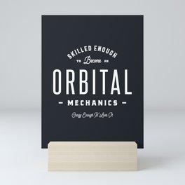 Orbital Mechanics Mini Art Print