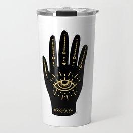 Evil Eye Hand Travel Mug