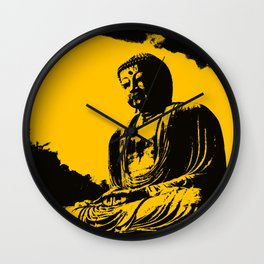 """Silence Is Golden"" Wall Clock"