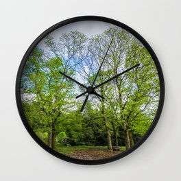 The six trees Wall Clock