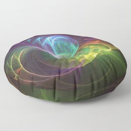 Spun Glass Floor Pillow