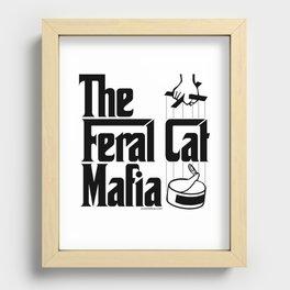 The Feral Cat Mafia Recessed Framed Print