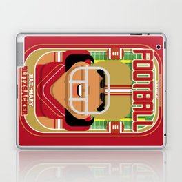 American Football Red and Gold - Hail-Mary Blitzsacker - Indie version Laptop & iPad Skin