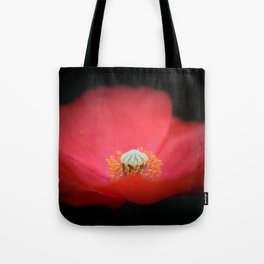 Red flower India Tote Bag
