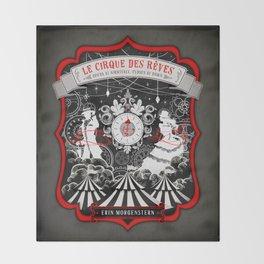 Night Circus Throw Blanket