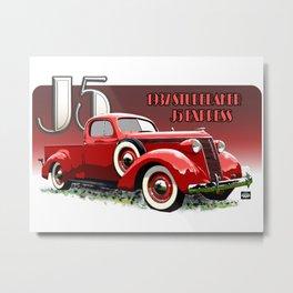 J5 Studebaker Express Metal Print