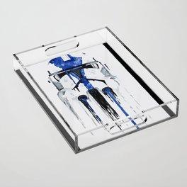 A blue hope 1 Acrylic Tray