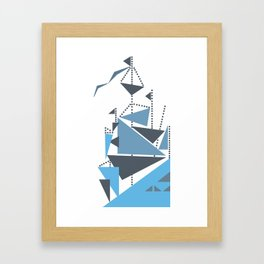 Simplified Framed Art Print