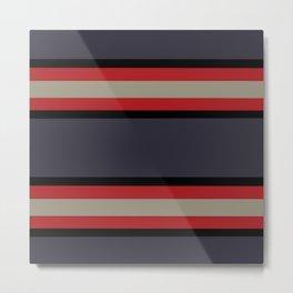 The Boldest Stripes, Metal Print