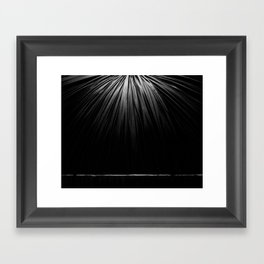 Don't Look Down Framed Art Print